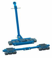 Pake Handling Tools Steerable Skates Kits-Machinery Moving Dolly 18 Ton Capacity
