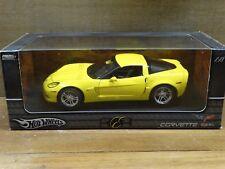 Hot Wheels Elite 2006 Chevy Corvette Z06 1:18 Scale Diecast Model Limited Car