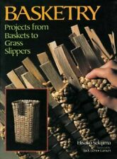Basketry: Projects From Baskets To Grass Slippers By Hisako Sekijima *Excellent*