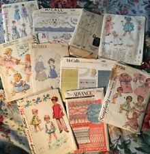 LOT OF 10 VTg SEWING PATTERNS ~ Kids Mens Simplicity McCall's Dubarry