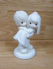 "Genuine Precious Moments (E-92522) ""Bless You Two"" Enesco Figurine Only *Read*"