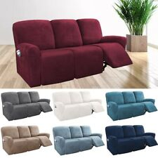2/3 Seater Recliner Sofa cover Stretchy Couch Slipcover Sofa Protector Wrap All