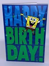 Hall Mark Spongebob Birthday Card
