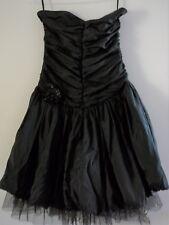 Miss Anne Ladies Black Evening Cocktail Dress Size M Formal Wedding