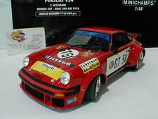 Minichamps 155766451#Porsche 934 #GT51 EGT 300km Nürburgring 1976 Hezemanns 1:18