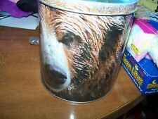 CERAMIC GRIZZLY BEAR CARDEW DESIGN COFFEE TEA CUP MUG & COASTER CAN & WILDLIFE