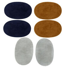 3 Colors DIY Sew-on Elbow Knee Patches for Clothing Blue Grey Camel14 x 9cm