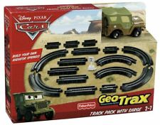 Cars Geotrax Ground Track Pack with Sarge ~ Add Radiator Springs to your System