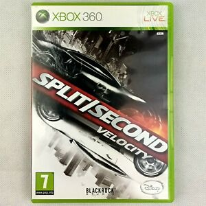 Split Second Velocity Microsoft Xbox 360  Manual Included & Clean CD   PAL