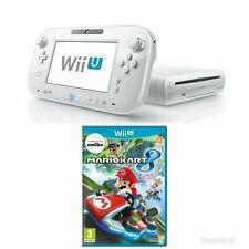 Nintendo Wii U - White Console + Mario Kart Wii U Bundle - MINT - FAST Delivery