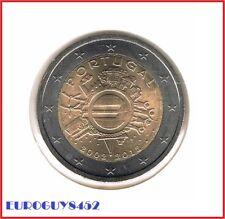 PORTUGAL - 2 € COM. 2012 UNC - 10 JAAR EURO