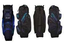 Sta-dry 100 Waterproof Golf Cart Bag 2018 - Navy and Electric Blue