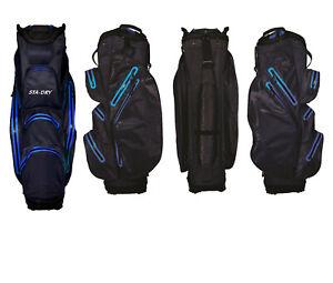 STA-DRY 100% Waterproof Golf Trolley / Cart Bag Ultralightweight - Navy
