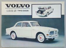 1962 Volvo 122 S Two-Door original American sales brochure