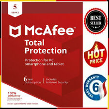 McAfee Total Protection 2020 antivirus 5 device 6 Years📩 Ínstant Ḍelivery📩