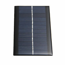 6V 1W Sonnenkollektor Solaranlage Solar Panel DIY für Batterie Handy Chargers