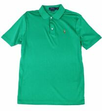 Polo Ralph Lauren Mens Shirt Green Size Large L Classic Fit Knit Polo $85 #146