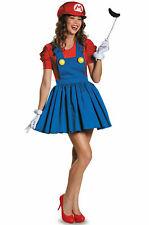Super Mario Brothers Mario Skirt Adult Costume Size Medium