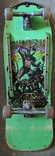 Rare Rolls Racer Skateboard Vintage Conqueror Green Bootleg of Alva Deck