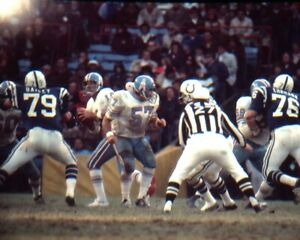 LYNN DICKEY 8X10 PHOTO HOUSTON OILERS PICTURE NFL FOOTBALL VS COLTS