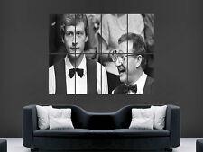STEVE DAVIS DENNIS TAYLOR  POSTER SNOOKER 1985 FINAL LEGENDS SPORT ART IMAGE