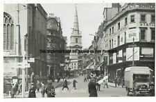 Bristol High Street Real Photo Vintage Postcard 23.6