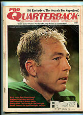 Pro Quarterback #9 Sept 1971  Bart Starr Bubba Smith George Allen MBX16