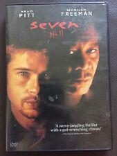 Seven (DVD, 2004, Single Disc) Brad Pitt, Morgan Freeman