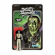 King Diamond GLOW in the dark New Action figure Super7 Reaction Mercyful Fate