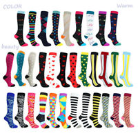 Stockings Support Sports Medical Compression Mens/Women Running Calf 1Pair Socks
