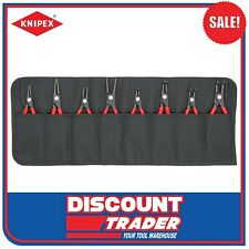 Knipex Precision Internal & External Circlip Plier Set 8 Piece - 001958V02