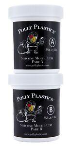 Polly Plastics Silicone Molding Putty - 1/2 Lb.