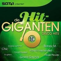 DIE HIT GIGANTEN DISCO HITS 2 CD MIT BONEY M UVM NEU