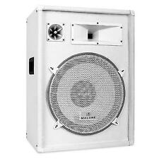 "Malone Pw-1522 DJ Stage PA Loud 800w Speaker 3 Way System 15"" Bass"