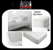 IKEA KNOPPA montiert weiß lange Blatt für Einzelbett 90x190cm schnelle Lieferung NEU