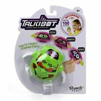 Silverlit Talkibot Robotic Voice Recording Green Toy Robot For Kids