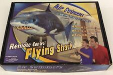 Air Swimmers Remote Control Flying Shark Toy Inflatable Rc New
