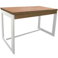 Escritorios y mesas de PC blancos de roble para el hogar