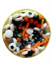 Spooky Eyes Mix Tall Sprinkles Decorations 4 oz Wilton Halloween