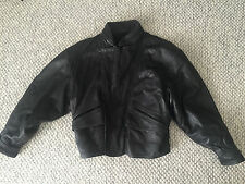 AWESOME VINTAGE 80'S LEATHER JACKET - COMPAGNIA DELLE PELLI