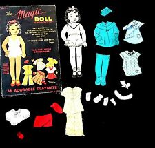 The Magic Doll Paper Doll Set- Peggy No. 2 - For the Little Dressmaker c1950