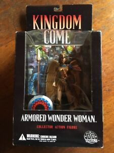 ARMORED WONDER WOMAN  DC DIRECT KINGDOM COME Series 3 By ALEX ROSS WONDER WOMAN
