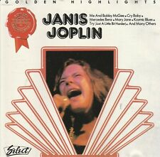 Janis Joplin ‎– Golden Highlights CD