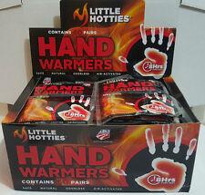Little HOTTIES 40 Pairs 80 Hand Warmers Heat Pack Socks Heater Snow Ski warmer