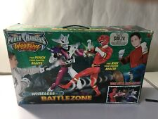POWER RANGERS WILD FORCE WIRELESS BATTLEZONE COMPLETE IN BOX