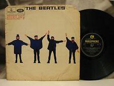 THE BEATLES - HELP ! LP MONO UK 1st PRESSING 1965 Y/B PARLOPHONE PMC 1255