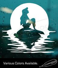 Disney Little Mermaid  STICKER VINYL DECAL MICKEY MOUSE WALT DISNEY WORLD PRINCE
