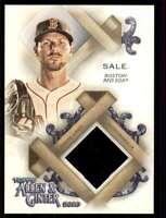 2020 Topps Allen & Ginter Jersey Relic Chris Sale Red Sox #FSRA-CS