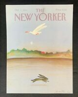 COVER ONLY ~ The New Yorker Magazine,  October 7, 1985 ~ Andre Francois