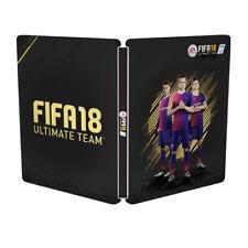 FIFA 18 Steelbook STEEL BOX Steelcase senza gioco Merce Nuova